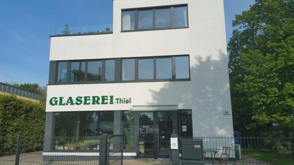 Gebäude der Glaserei Thiel in Berlin