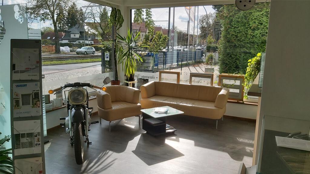 Sitzbereich bei Glaserei Thiel in Berlin-Köpenick1